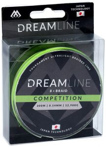 Plecionka MIKADO Dream Line Competition (FLUO GREEN) 0.12mm 10,21kg  150m